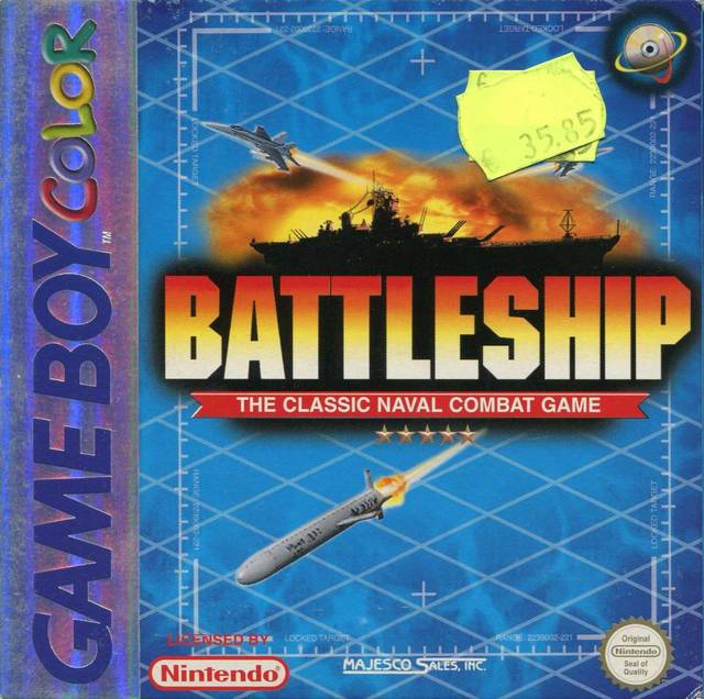 Battleship Game Boy Color Ver.