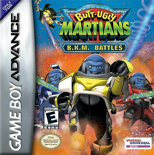 Butt-Ugly Martians: B.K.M. Battles