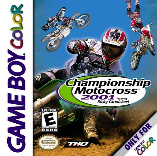 Championship Motorcross 2001 featuring Ricky Carmichael