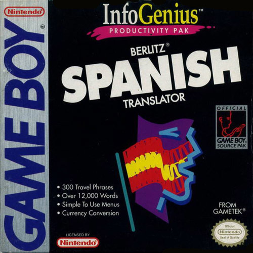 InfoGenius Productivity Pak: Berlitz Spanish Translator