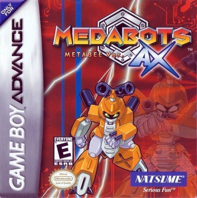 Medabots AX: Metabee Version - Red
