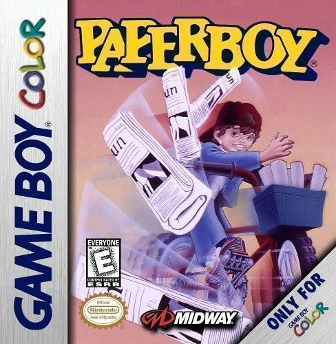 PaperBoy (GameBoy Color Ver.)