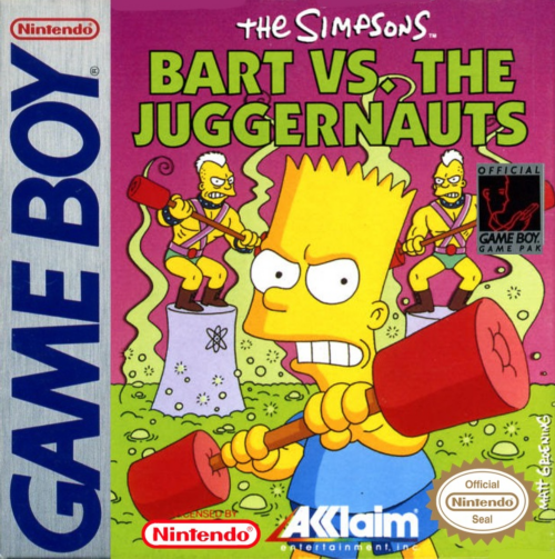 Simpsons: Bart vs. The Juggernauts