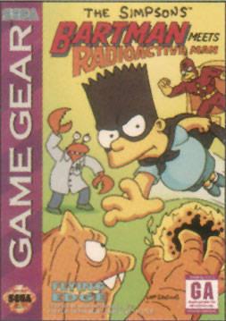 Simpsons: Bart Meets Radioactive Man