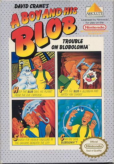 A Boy and His Blob: Trouble on Blobolonia
