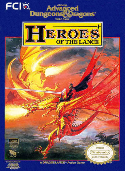 Heroes Of The Lance: Advanced Dungeons & Dragons