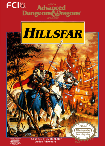 Hillsfar: Advanced Dungeons & Dragons