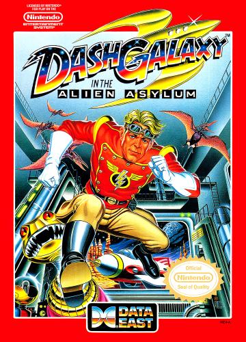 Dash Galaxy in Alien Asylum