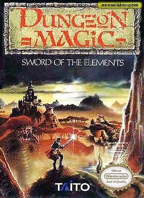 Dungeon Magic: Sword of Elements