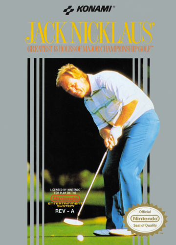 Jack Nicklaus' Major Championship Golf