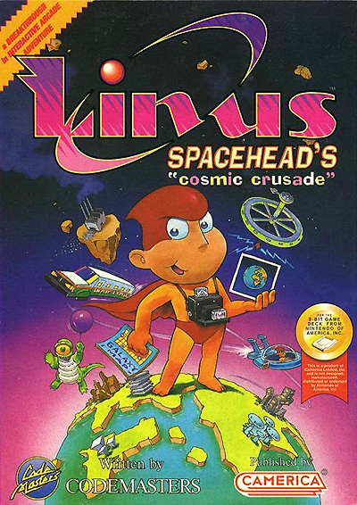 Linus Spacehead's Cosmic Crusade