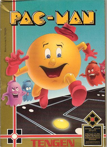 Pac-Man by Tengen