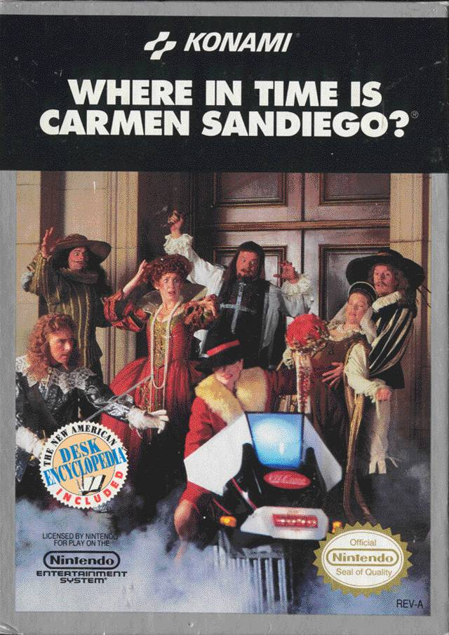 Where in Time is Carmen Sandiego? w/ Desk Encyclopedia