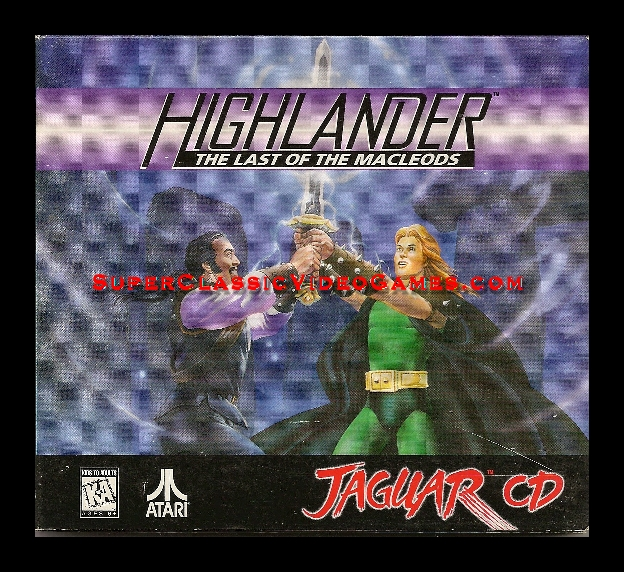 Highlander: The Last of the Macleods Jaguar CD