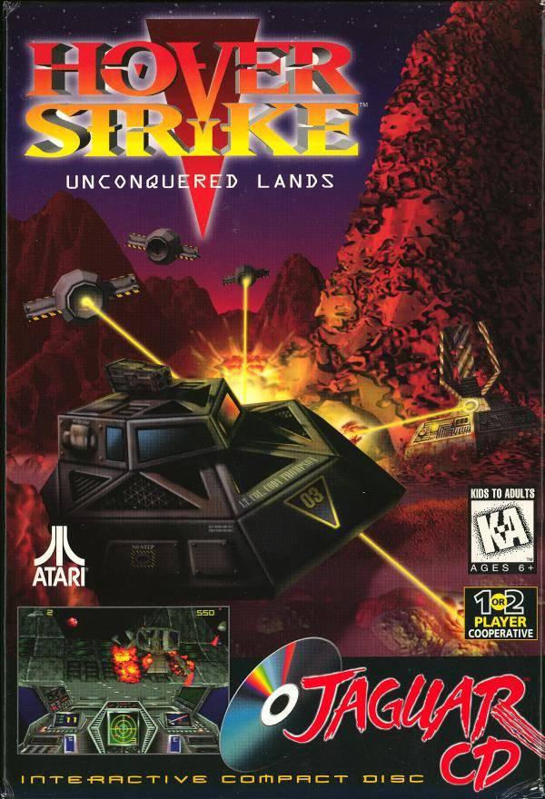 Hover Strike Unconquered Lands Jaguar CD