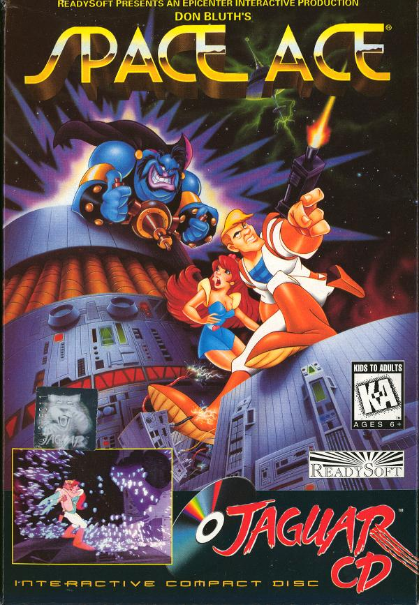 Space Ace Jaguar CD