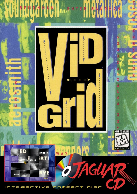Vid Grid Jaguar CD