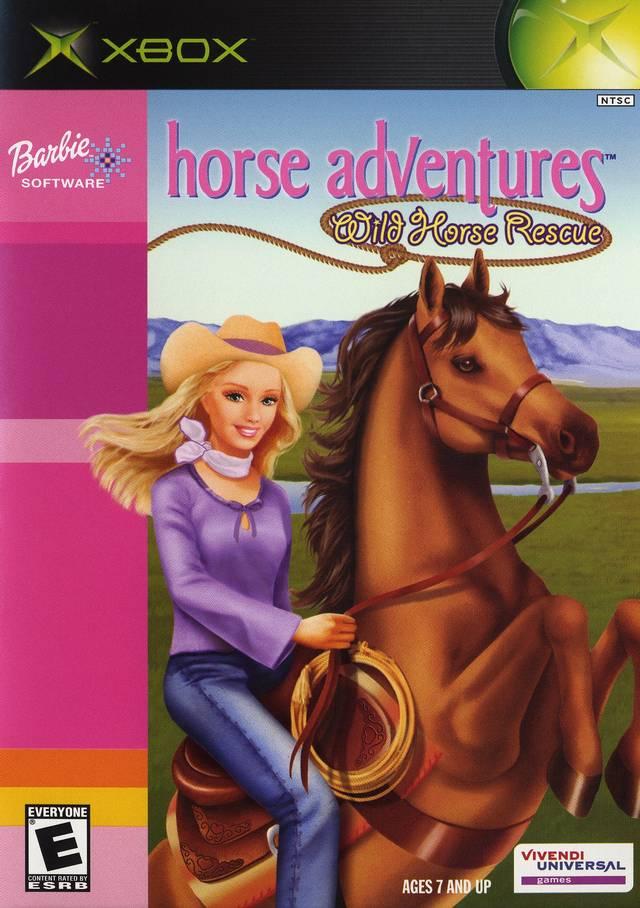 Barbie Horse Adventure: Wild Horse Rescue