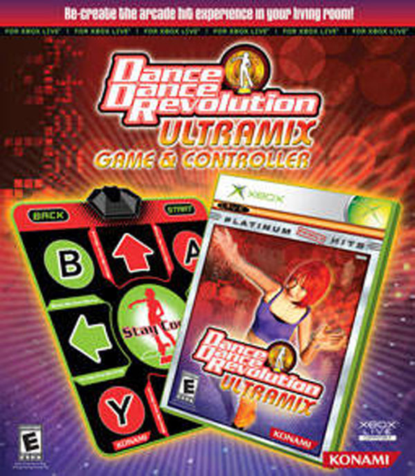 Dance Dance Revolution Ultramix w/ Dance Pad