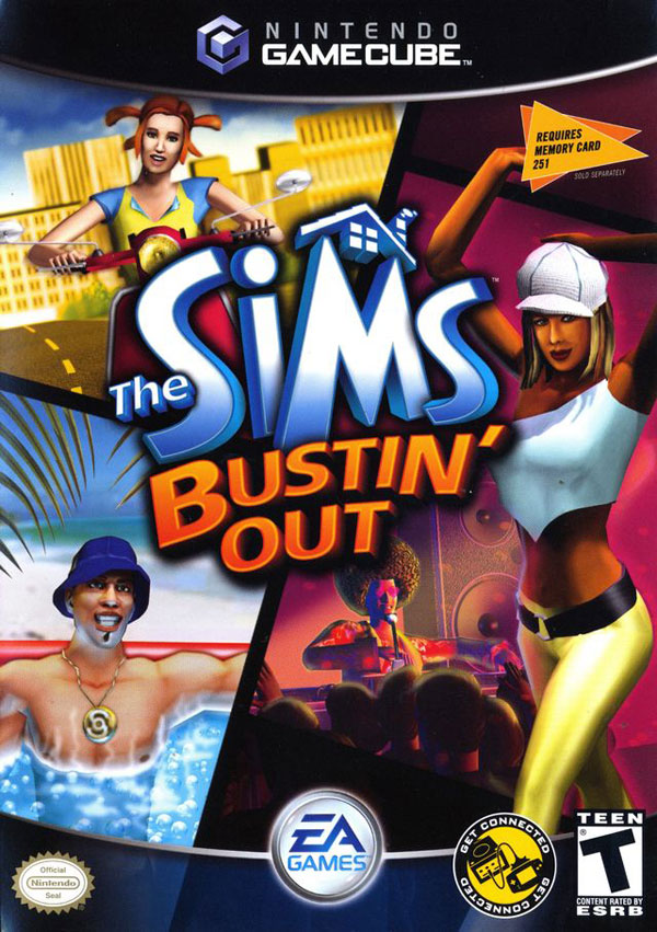 Sims Bustin' Out