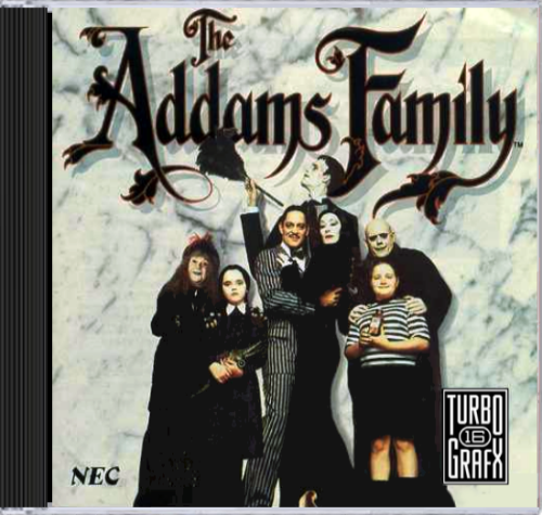 Addams Family CD