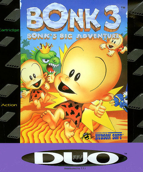 Bonk 3: Bonk's Big Adventure Super CD