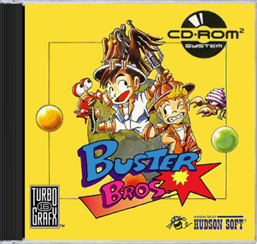 Buster Bros Turbo Grafx CD