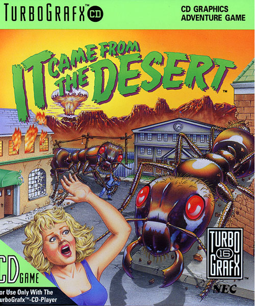 It Came From The Desert CD