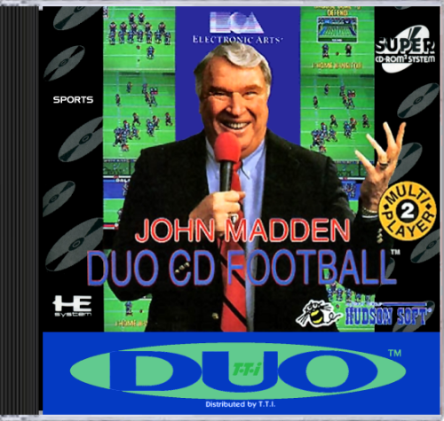 John Madden Duo CD Football Super CD