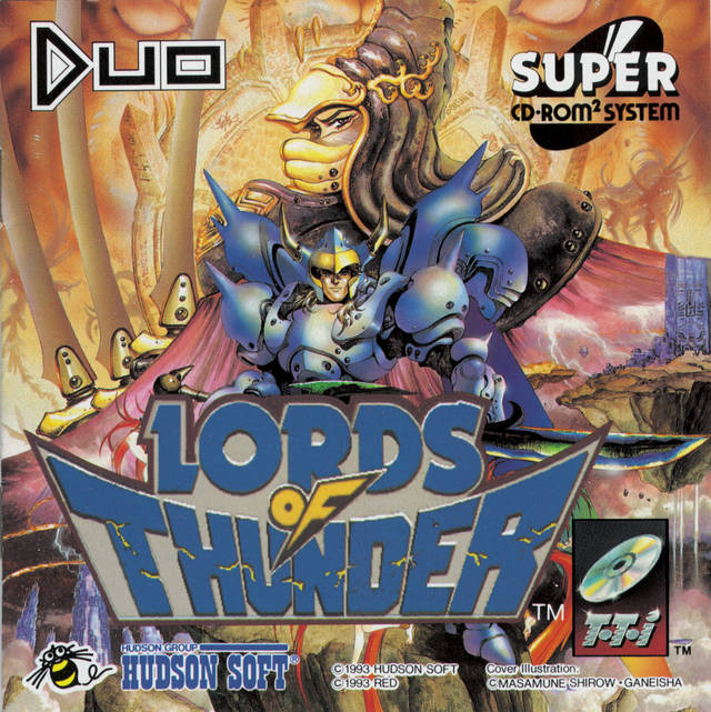Lords of Thunder Super CD-ROM2