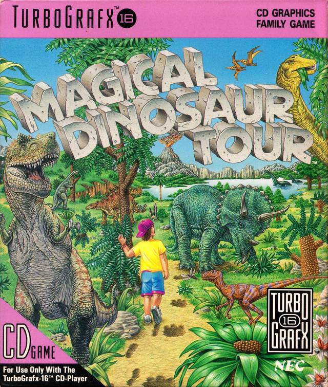 Magical Dinosaur Tour CD
