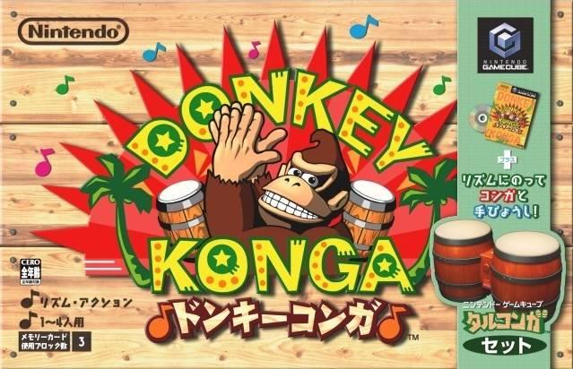 Donkey Konga w/controller