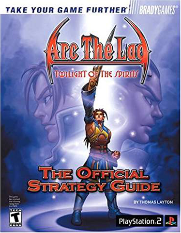 Arc The Lad: Twilight of the Spirits Official Strategy Guide