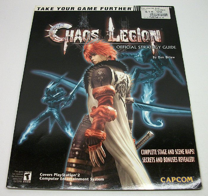 Chaos Legion Official Strategy Guide