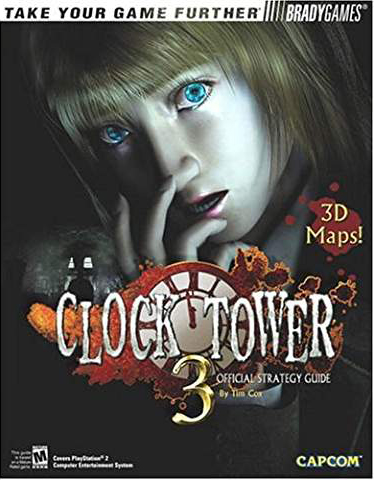 Clock Tower 3 BradyGames Official Strategy Guide