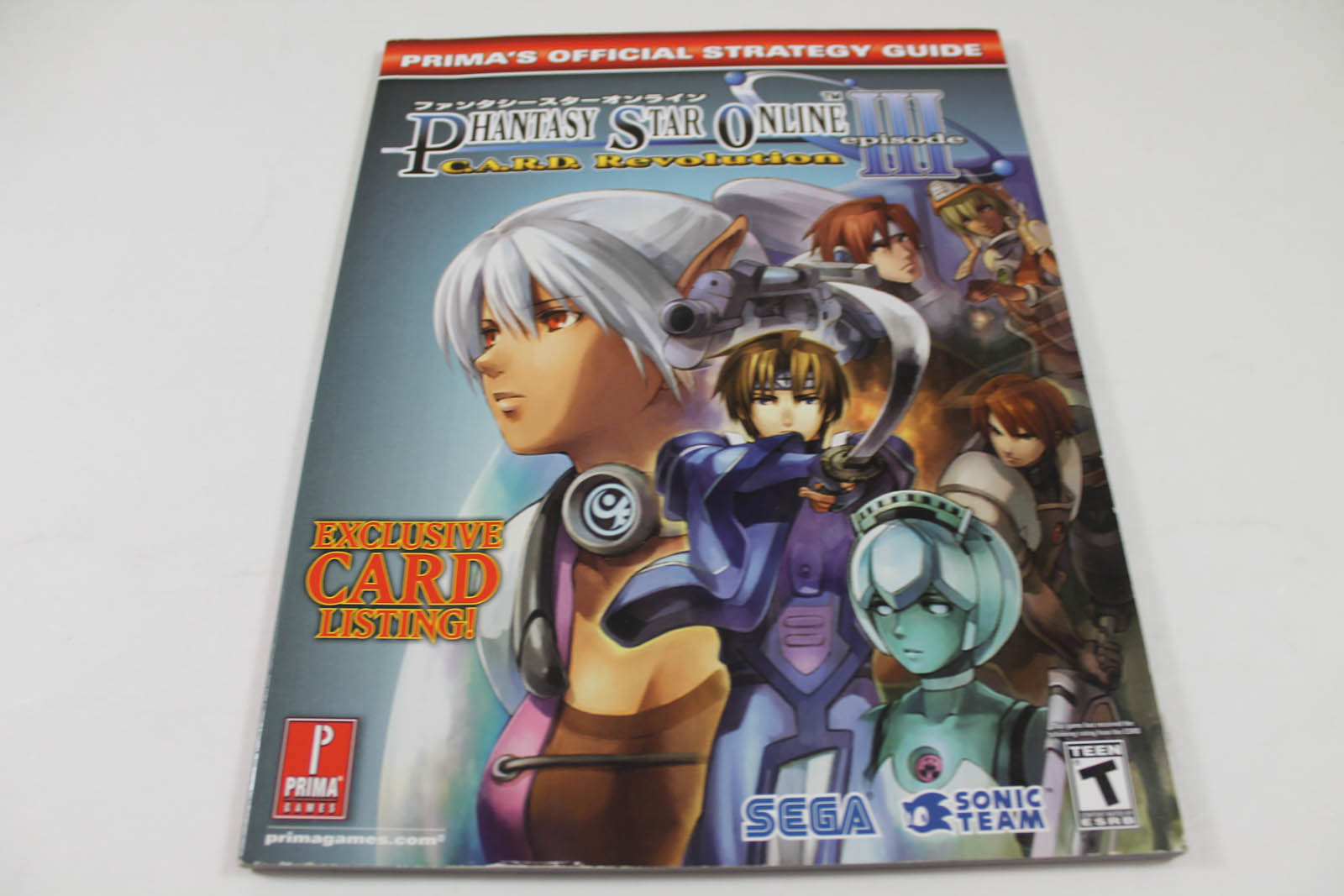 Phantasy Star Online Episode III - C.A.R.D. Revolution Prima's Official Strategy Guide