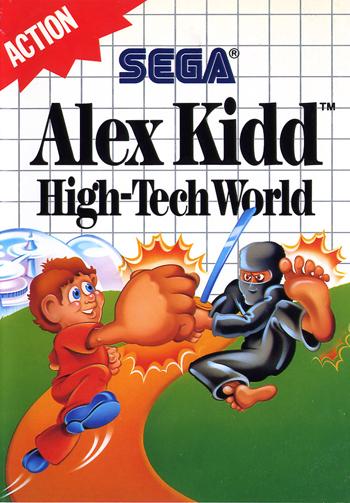 Alex Kidd: High Tech World