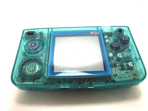 Neo Geo Pocket Color Handheld System - Crystal Blue