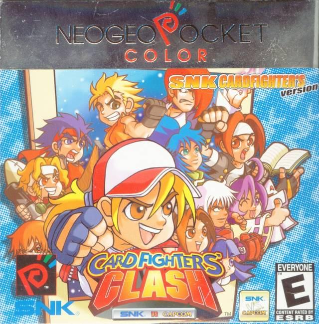 SNK vs. Capcom: Card Fighter's Clash Capcom Version