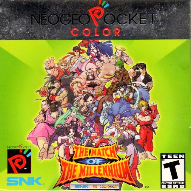 SNK vs. Capcom: Match of the Millennium NeoGeo Pocket Color