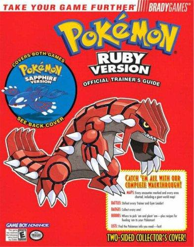 Pokemon Ruby & Sapphire Official Strategy Guide by BradyGames