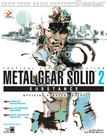 Metal Gear Solid 2 Substance Official Strategy Guide