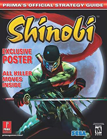 Shinobi Official Strategy Guide