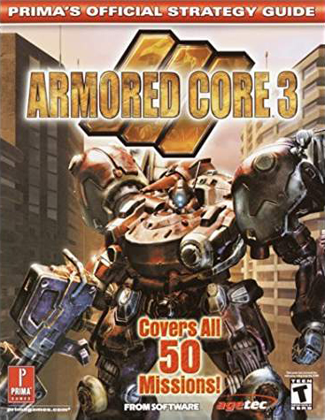 Armored Core 3 Official Strategy Guide