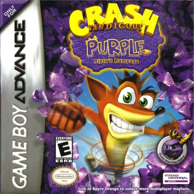 Crash Bandicoot Purple: Riptos Rampage