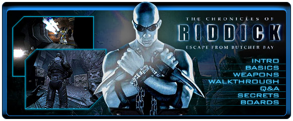 Chronicles Of Riddick Official Strategy Guide