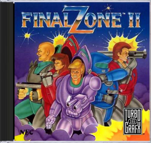 Final Zone II CD-ROM2