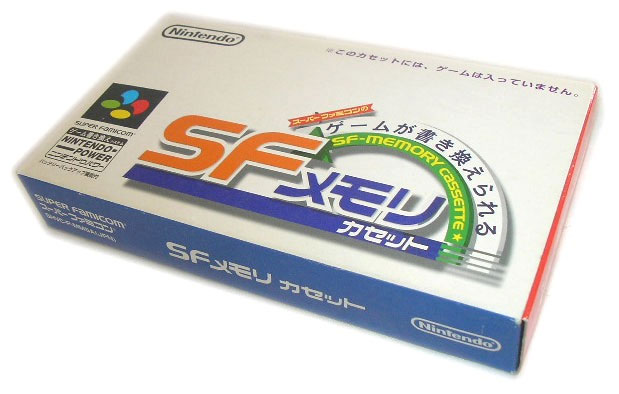 SF Memory Cassette by Nintendo