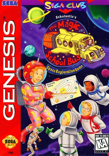Magic School Bus Space Exploration Game