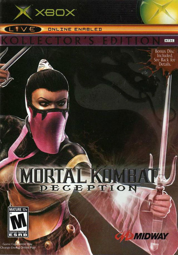 Mortal Kombat Deception Kollector's Edition